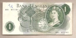 Inghilterra - Banconota Circolata Da 1 Sterlina P-374a - 1960 - 1952-… : Elizabeth II