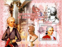 Guinea - Bissau 2006 - 250th Anniversary Amadeus Mozart S/s Y&T 324, Michel 3420/BL571 - Guinea-Bissau