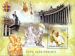Guinea - Bissau 2006 - Pope John Paul II S/s Y&T 327, Michel 3440/BL575 - Guinea-Bissau