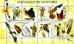 Guinea - Bissau 2006 - Centenary Scouts, Birds Of Prey 4v Y&T 2270-2273, Michel 3399-3402 - Guinée-Bissau