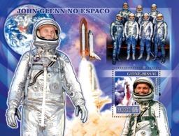 Guinea - Bissau 2007 - Space John Glenn S/s Y&T 337, Michel 3534/BL593 - Guinea-Bissau