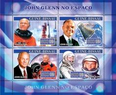Guinea - Bissau 2007 - Space John Glenn 4v Y&T 2290-2293, Michel 3526-3529 - Guinea-Bissau