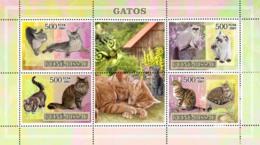 Guinea - Bissau 2007 - Cats 4v Y&T 2342-2345, Michel 3586-3589 - Guinea-Bissau