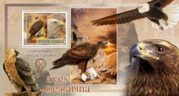 Guinea - Bissau 2007 - Birds Of Prey - Eagles - Scouts Logo S/s Y&T 349, Michel 3606/BL603 - Guinée-Bissau