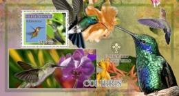 Guinea - Bissau 2007 - Birds - Colibris - Scouts Logo S/s Y&T 350, Michel 3611/BL608 - Guinea-Bissau