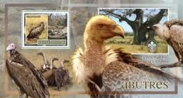 Guinea - Bissau 2007 - Birds - Griffons - Scouts Logo S/s Y&T 353, Michel 3607/BL604 - Guinée-Bissau