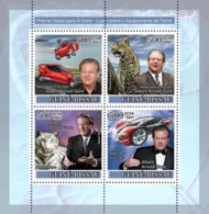 Guinea - Bissau 2007 - Nobel Prize To A. Gore/Climate Problems 4v Y&T 2400-2403, Michel 3668-3671 - Guinée-Bissau