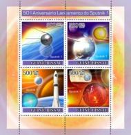Guinea - Bissau 2007 - Space / Sputnik I 4v Y&T 2448-2451, Michel 3678-3681 - Guinée-Bissau