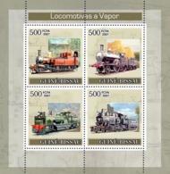 Guinea - Bissau 2007 - Steam Trains 4v Y&T 2456-2459, Michel 3623-3626 - Guinea-Bissau