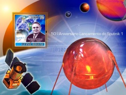 Guinea - Bissau 2007 - Space / Sputnik I S/s Y&T 376, Michel 3682/BL623 - Guinea-Bissau