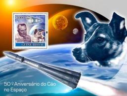 Guinea - Bissau 2007 - Dog In Space / Sputnik II S/s Y&T 377, Michel 3687/BL624 - Guinée-Bissau