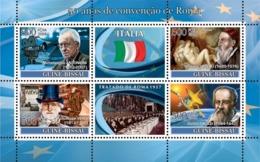 Guinea - Bissau 2008 - Idea Of Europe-50 Years Treaty Of Rome-Italy-Antonioni 4v Y&T 2468-2471, Michel 3706-3763 - Guinea-Bissau