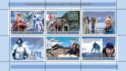 Guinea - Bissau 2008 - Tribute To Edmund Percival Hillary (1919-2008)-Mountains 4v Y&T 2490-2493, Michel 3727-3730 - Guinea-Bissau