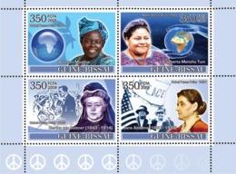 Guinea - Bissau 2008 - Ladies Heroes Of Peace I - Nobel Prize Winners 4v Y&T 2494-2497, Michel 3692-3695 - Guinée-Bissau