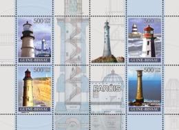 Guinea - Bissau 2008 - Lighthouses 4v Y&T 2506-2509, Michel 3722-3725 - Guinea-Bissau