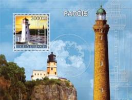 Guinea - Bissau 2008 - Lighthouses S/s Y&T 389, Michel 3726/BL631 - Guinea-Bissau