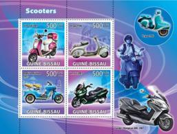 Guinea - Bissau 2008 - Scooters 4v Y&T 2614-2617, Michel 3889-3892 - Guinea-Bissau