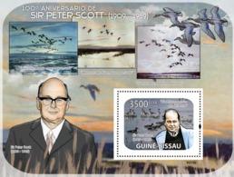 Guinea - Bissau 2009 - Sir Peter Scott (1909-1989), Birds S/s Y&T 445, Michel 4157/BL688 - Guinée-Bissau