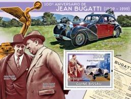 Guinea - Bissau 2009 - Jean Bugatti (1909-1939), Cars S/s Y&T 444, Michel 4172/BL691 - Guinea-Bissau
