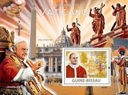 Guinea - Bissau 2009 - Vatican 80 (Popes) S/s Y&T 447, Michel 4177/BL692 - Guinea-Bissau