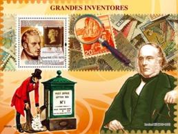 Guinea - Bissau 2009 - Greatest Inventors (R.Hill - Postal Reformer) S/s Y&T 448, Michel 4223/BL698 - Guinea-Bissau