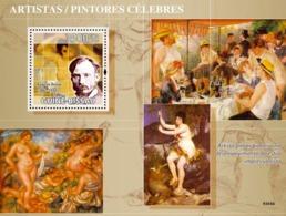 Guinea - Bissau 2009 - Greatest Painters (Auguste Renoir) S/s Y&T 451, Michel 4203/BL696 - Guinea-Bissau
