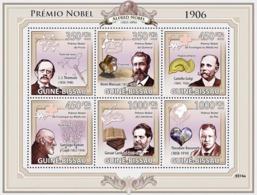 Guinea - Bissau 2009 - Nobel Prize 1906 (J.J.Thomson, H.Moissan, C.Golgi, S.Ramon..) 6v Y&T 2970-2975, Michel 4242-4247 - Guinée-Bissau