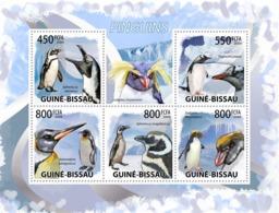 Guinea - Bissau 2009 - Penguins 5v Y&T 3075-3079, Michel 4390-4394 - Guinea-Bissau