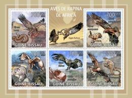 Guinea - Bissau 2009 - African Birds Of Prey 5v Y&T 3060-3064, Michel 4414-4418 - Guinée-Bissau