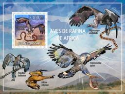 Guinea - Bissau 2009 - African Birds Of Prey S/s Y&T 464, Michel 4419/BL719 - Guinée-Bissau