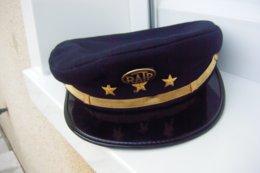 BELLE CASQUETTE METRO RATP - VILLE De PARIS Années 1950-1960 Taille 56 Jamais Portée UGECO BERNAY - Headpieces, Headdresses
