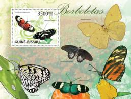 Guinea - Bissau 2009 - Butterflies S/s Y&T 482, Michel 4508/BL735 - Guinea-Bissau