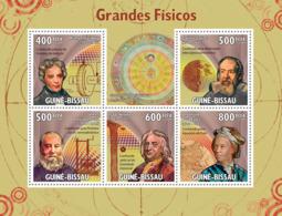 Guinea - Bissau 2009 - Grand Physics 5v Y&T 3154-3158, Michel 4444-4448 - Guinea-Bissau