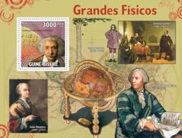 Guinea - Bissau 2009 - Grand Physics S/s Y&T 490, Michel 4449/BL725 - Guinea-Bissau