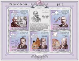 Guinea - Bissau 2009 - Nobel Prize 1913 5v Y&T 3189-3193, Michel 4527-4531 - Guinée-Bissau
