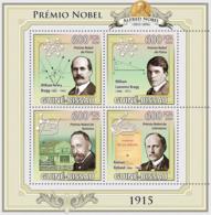 Guinea - Bissau 2009 - Nobel Prize 1915 4v Y&T 3197-3200, Michel 4541-4544 - Guinea-Bissau