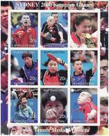 Olympics 2000 - Table Tennis - KYRGYZSTAN - Sheet MNH - Summer 2000: Sydney