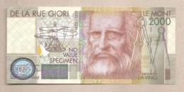 """Italia - Banconota Non Circolata FdS """"De La Rue Giori""""  - 2000 - Specimen"""