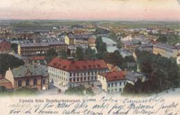 Upsala (Uppsala) * Fran Domkyrkotornet, Teilansicht * Schweden * AK930 - Suède