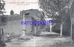 120268 SPAIN ESPAÑA BORGES DEL CAMP TARRAGONA HOSPITAL POSTAL POSTCARD - Spanien