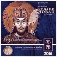 Serbia 2016. Mint Set 670 Years Since Coronation Of Emperor Dusan - Serbia