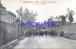 120270 SPAIN ESPAÑA BORGES DEL CAMP TARRAGONA ENTRADA DE LA POBLACION POSTAL POSTCARD - Spanien