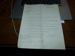 Document Avocat Winant Faillite Brasseur Albert Constant Mons 1900 Brasserie - Belgique