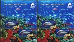 AUSTRALIA 2018 Macau The Great Barrier Reef Marine Life Fish Fishes Sharks Animals Fauna MNH - Meereswelt