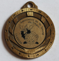 Médaille Récompense Association De Tir Sportif Du Trégor Lannion Viking - Sports
