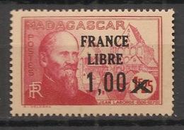 Madagascar - 1942 - N°Yv. 260a - France Libre - Surcharge Espacée Entre Les Deux 0 - Neuf Luxe ** / MNH / Postfrisch - Madagascar (1889-1960)