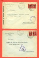 LOTTO 5 BUSTE - AMG-VG - Storia Postale