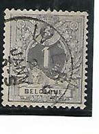 Belgique N°43 Wiers - 1893-1900 Fine Barbe