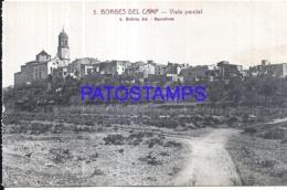 120278 SPAIN ESPAÑA BORGES DEL CAMP TARRAGONA VISTA PARCIAL POSTAL POSTCARD - Spanien