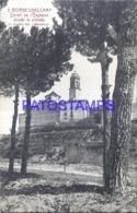 120279 SPAIN ESPAÑA BORGES DEL CAMP TARRAGONA DETALLE DE IGLESIA DESDE LA PINEDA POSTAL POSTCARD - Spanien